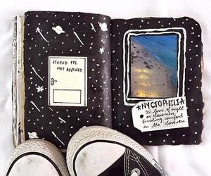 art, journal art, and journals image
