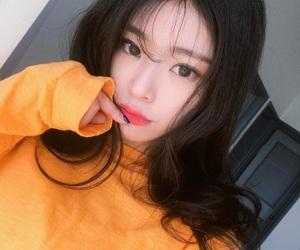girl, selfie, and korean image