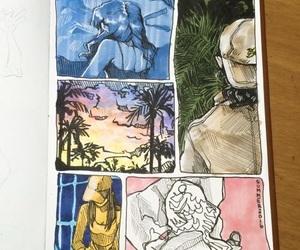 art, inspiration, and journal image