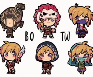 adorable, chibi, and fan art image