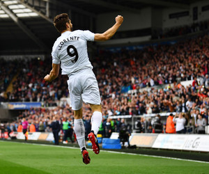 fernando llorente and swansea city image