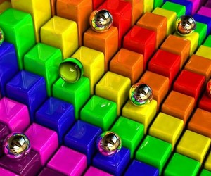 colorful, colors, and rainbow image