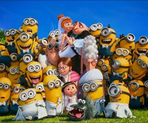minions, GRU, and despicable me image
