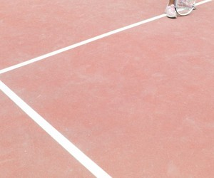 pink and tennis court image