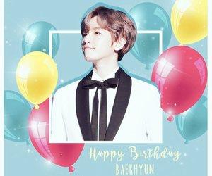 birthday, exo, and baekhyun image