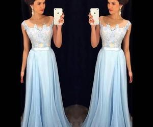 beautiful+, blue+, and dress+ image