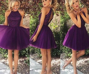 dress and purple+ image