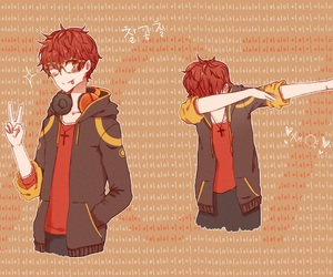707, mystic messenger, and luciel choi image