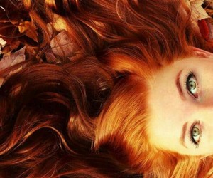 beautiful, color, and ginger hair image