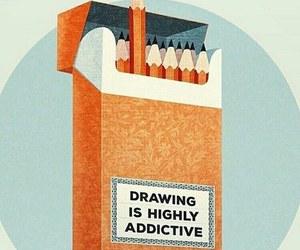 drawing, art, and addictive image