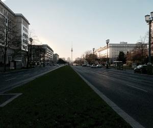 berlin, dark, and street image