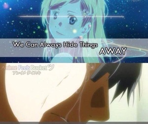quote, your lie in april, and anime image