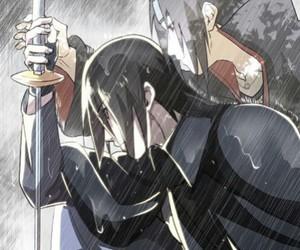 sasuke, itachi, and uchiha image
