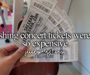 ed sheeran, tickets, and concert image