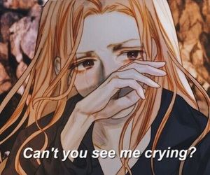 cry, drawing, and grunge image