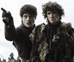 game of thrones, rickon stark, and ramsay bolton image