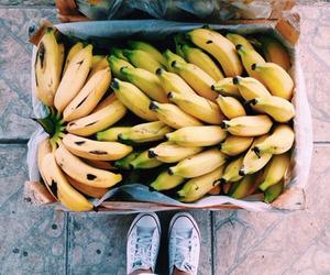 bananna, photography, and food image