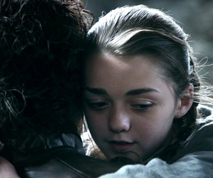 stark, arya, and game of thrones image