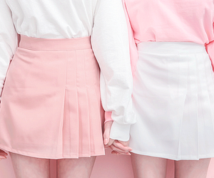 pink, white, and pastel image