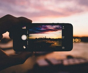 city and sunset image