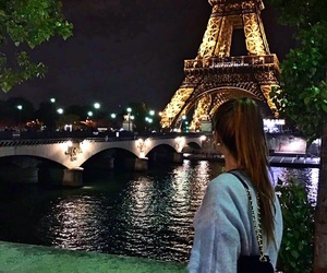 discover, eiffeltower, and girl image