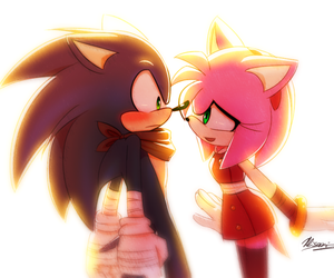 amy, sonic boom, and love image