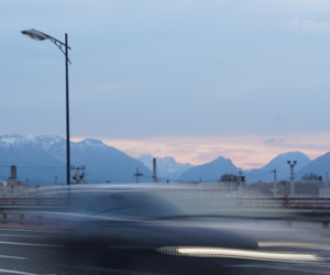 car, photography, and mountains image