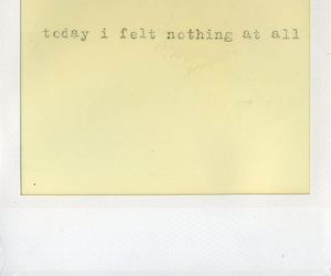 nothing, polaroid, and text image