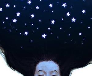 stars, art, and hair image
