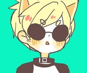 neko, anime boy, and homestuck image