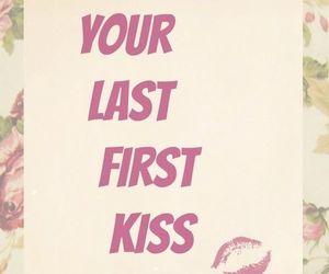 kiss, one direction, and Lyrics image
