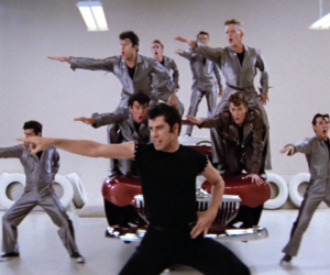 grease, movies, and song image