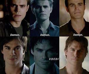 brothers, stefan salvatore, and damon salvatore image