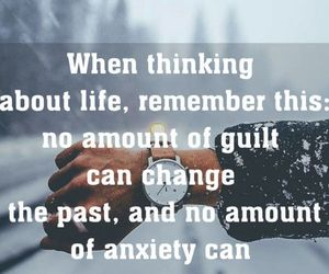 anxiety, guilt, and inspiration image