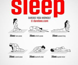 workout and yoga image