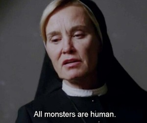 monster, american horror story, and quotes image