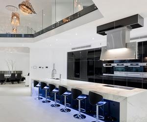 luxury, interior, and kitchen image
