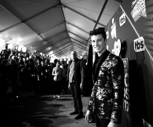 black & white, shawn mendes, and iheartradio image
