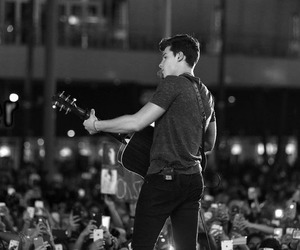 black & white and shawn mendes image