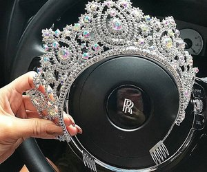 car, crown, and diamonds image