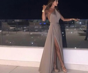 dress, fashion, and night image