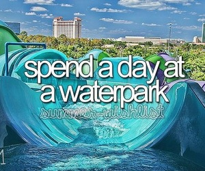 waterpark and bucket list image
