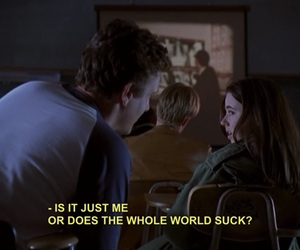 freaks and geeks, quotes, and grunge image