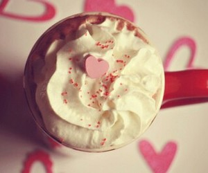 coffee, cute, and coffee pink image