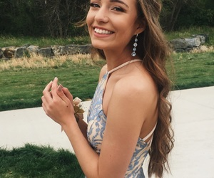 Prom, prom hair, and smile image