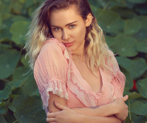 beauty and miley cyrus image