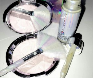 cosmetics, highlighter, and makeup image