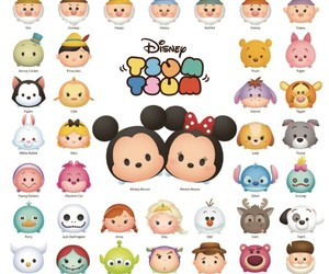 disney and tsum tsum image
