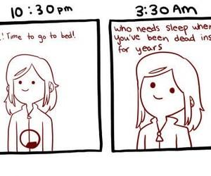 sleep, funny, and lol image
