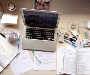 school, studying, and books image